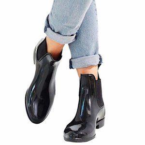 SAM EDELMAN Tinsley Chelsea Gloss Rain Boots